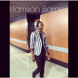 Harrison Barnes Warriors Game 2 brandwills instagram
