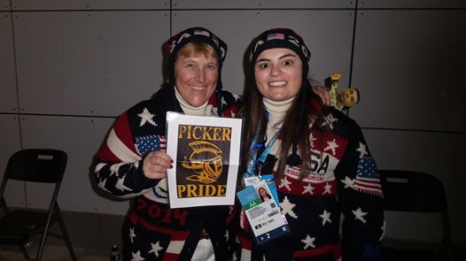 Kim and Stacy in Sochi